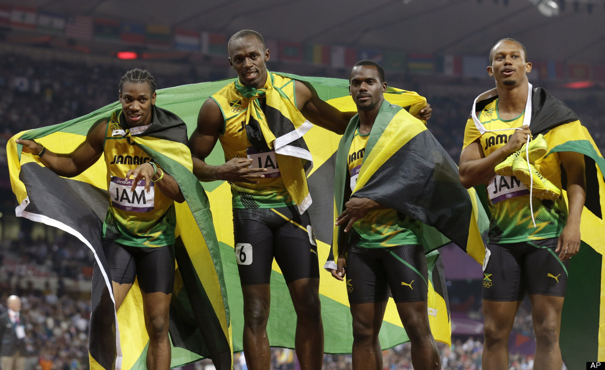 Olympic Bonus: Jamaica Men's 4×100 Relay | Stunnerbaby ...