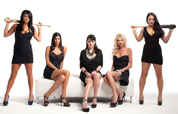 Baseball Wives 2011 Advertising Shoot