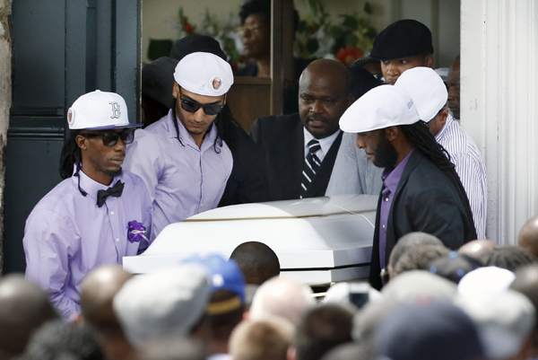 Odin Lloyd's Funeral