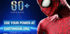 Spiderman Earth Hour+ Ad