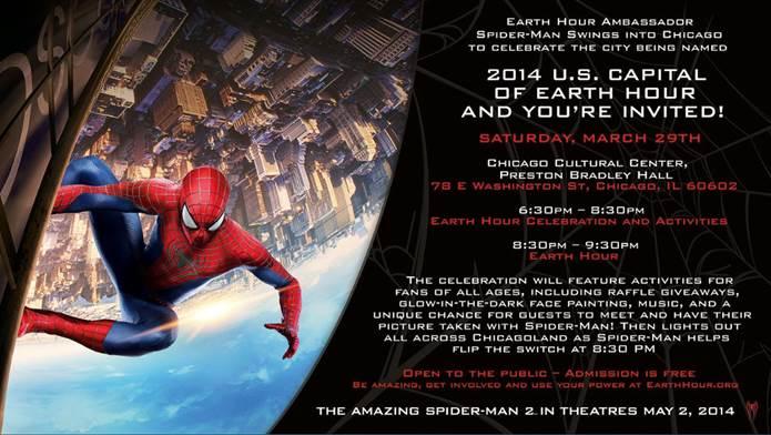 Spiderman-Earth-Hour-Celebration